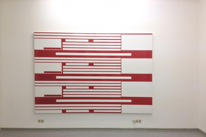 Ronald de Bloeme, White Lines, 2014