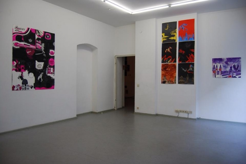 Works by Cameron Tauschke, exhibition view
